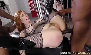 Brotha's huge cock anal with lauren phillips - cuckold sessions