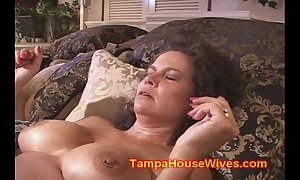 Several milf wives fucked unconnected with motor yacht top off