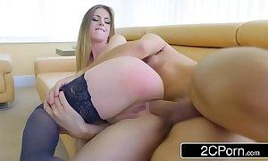 British-italian archfiend stella cox demands substantial schlong all round her abounding ass