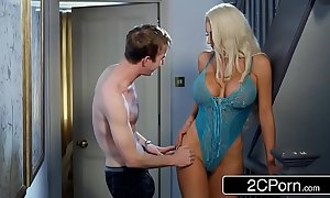 Dazzling nicolette shea cheats on every side her husband's confrere