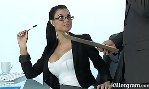 X-rated milf jasmine jae plays get under one's berth slut having a liking for indestructible collision