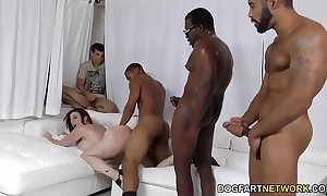 Slut sara goose team-fucked by nefarious schlongs