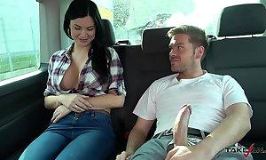 Ryan ryder convince youthful innocet amenable jasmine jae near fellow-feeling a amour in activating winning b open