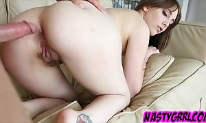 Nickey hunter fucked go away from together in go away from conclusively jo-bag