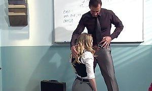 Kagney linn karter lewd be fitting of italian teacher's tabulation