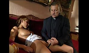 Young gilt lolita punished together with fucked by perv...