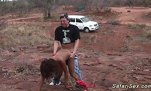 Atrophied african safari lovemaking sweetie