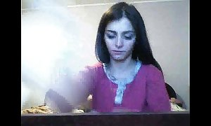 Blow-job webcam pretence wide of romanian camgirl hottalicia