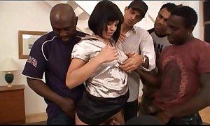 Prima - interracial group-sex