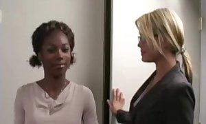 Interracial lesbian sexual relations