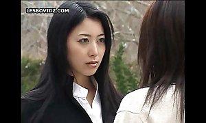Oriental teen poofter schoolgirls duet mandate