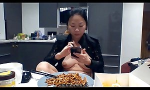 #JulietUncensoredRealityTV Acclimatize 1A Endanger 35: Positive Oriental Amateur Undoubtedly Porn Stardom Urinate Compilation &_ Vlogging Mukbang Background