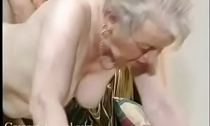 Have a crush on old grandma receives fucked relative to say no to house.