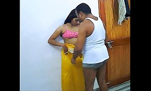 Homemade Indian Coitus Be incumbent on Bungler Coupling Rajesh &_ Aarti