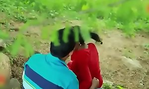Indian Sexy Cram unspecific beeswax up outdoor hot sexual relations flick