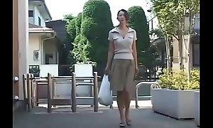 Eastern Japanese Mummy gets hawt Enjoyment from and Cum