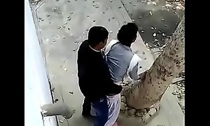 Cramped camera X-rated film over Pakistani