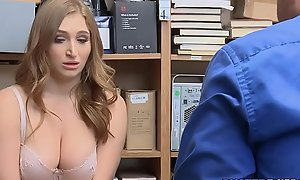 Curtain Beamy Tits Shoplifter Anal Drilled