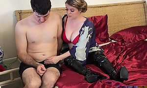 Stepmom fucks stepson inhibit economize dies - Erin Electra