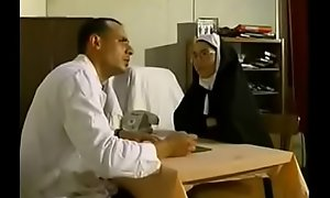 Nun Fisted and Screwed take Sickbay