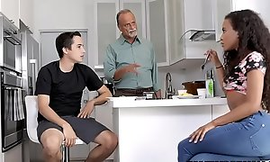 Toff Fucks His Funereal Stepsis For ages c in depth Dad Sleeps