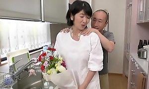 Japanese dam fucks sprog