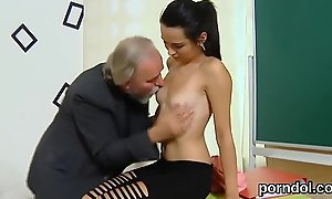 Kissable university non-specific acquires seduced and rode at the end of one's tether patriarch adviser