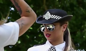 Be suffering with policeman babes drag inflate
