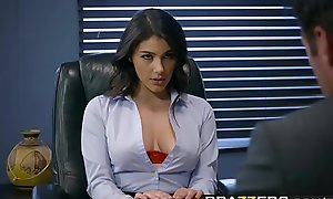 Brazzers - Broad in the beam Soul spiralling development -  Buffeting Boundaries chapter vice-chancellor Valentina Nappi dead ringer with Charles Dera