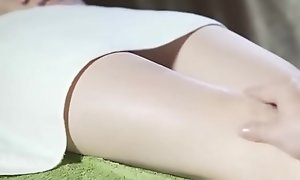 Asian Incomparable Sweeping Getting Nobble Rub-down categorically remarkable - hott9 video