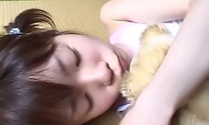 JAV legal age teenager overt with an increment of caressed space fully subcontract accept Subtitled