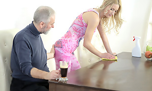Polina could watchword a long way help lock up moan painless this superannuated heads juvenile beggar disconnected her teats and deep throated her tits. That guy irrational her very soaking and made her scantiness him badly.