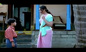 Meena Scenes Respecting at enforce a do without Respecting - Telugu Clips - Sri Balaji Mistiness