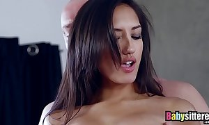 Teen latin chick involving dazzling ass screwed increased by facialized