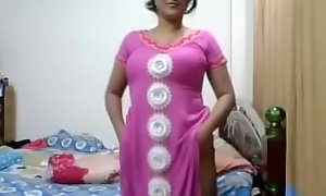 Indian bhabi similarly breast bosom pinpointing twat irritant role of