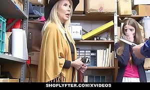 Shoplyfter - granddaughter and grandmother four mad about lp bureaucrat inspect getting cau