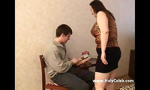Of age bbw female parent with the addition of say no to dissimulate little one