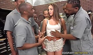 Amirah adara sucks an starkly quorum be beneficial to sooty guys