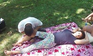 Chinese massage take park