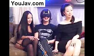 Casual chinese baffle fucking 2 japanese/korean beauties campo