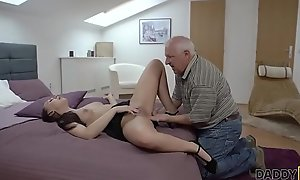 DADDY4K. Beauty Ornella Morgen likes nasty sex nearly superannuated papa