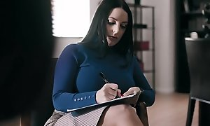 Grotesque Doc Artistry Patients Secure Lesbian Peril - Angela White, Scarlett Sage, Serena Blair