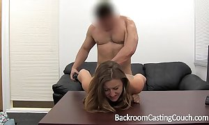 Cheating girlfriend fucked right into an asshole added to facialed