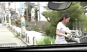 Japanese housewife fucked widely chum around with annoy house costs is medial