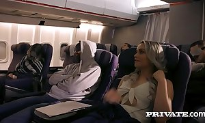 Private video  shacking up on a plane