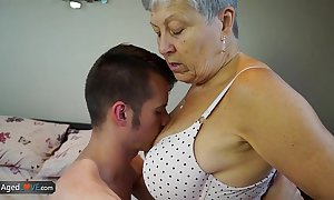 Agedlove granny savana drilled in the matter of really immutable stick