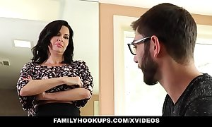 Familyhookups - sexy milf teaches stepson how on earth to fuck