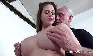 Cathy firmament gender with grandpapa ben dover