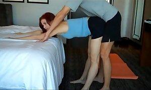Mommys yoga task